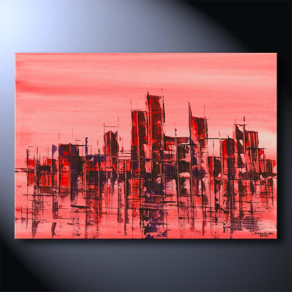 Bilder in acryl neue ideen f r die abstrakte acrylmalerei - Acrylmalerei ideen ...